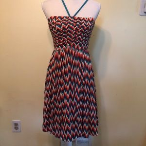 Plenty by Tracy Reese Chevron Dress, Size S